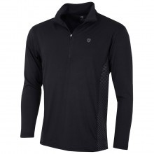 Island Green Mens 1/2 Zip Neck Breathable UltraLight Golf Base Layer