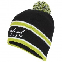 Island Green Mens Winter Knitted Golf Bobble Beanie