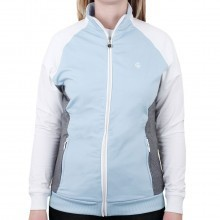 Island Green Ladies Contrast Raglan Zip Jacket