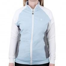 Island Green 2017 Ladies Contrast Raglan Zip Jacket