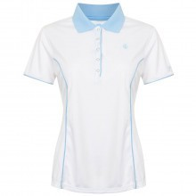 Island Green Ladies Popper Style Polo Shirt