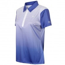 Island Green Ladies Sublimated Button Golf Polo Shirt