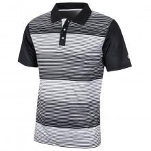 Island Green Mens Mini Stripe CoolPass Polo Shirt