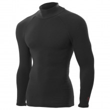 ZeroFit Mens Heat Rub Ultimate Mock Neck Moisture Wicking Baselayer