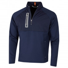 Peter Millar Mens 2021 Hyperlight Weld Hybrid Stretch Half Zip Golf Jacket