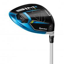 Taylormade Mens 2021 SIM 2 MAX MidLaunch Kuro Kage Silver RH Golf Driver
