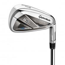 Taylormade Mens 2021 SIM 2 MAX Steel RH Golf Low CG Lightweight Irons (7 Irons)