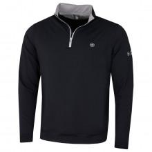 Peter Millar Mens 2021 Perth Stretch Loop Terry Quarter Zip UPF50+ Golf Sweater