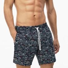 Lacoste Mens 2018 Printed Serge Swim Shorts