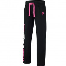 MusclePharm Womens MP Open Hem Fleece Jog Pant Bottoms