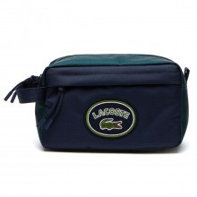 Lacoste Mens 2018 NH2683NT Neocroc Colorblock Toiletry Wash Bag