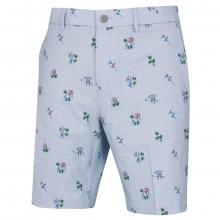 Original Penguin Mens 2021 Fun In Da Sun Floral Printed Stretch Golf Shorts