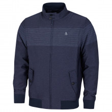 Original Penguin Mens 2021 The V Pete Technical Stand Up Collar Golf Jacket
