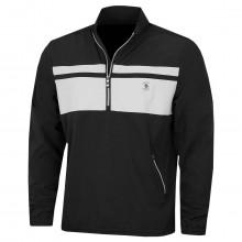 Original Penguin Mens 2021 Rain or Shine 1/4 Length Zip Golf Wind Shirt