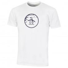 Original Penguin Mens 2021 Golf Ball Pete Soft Crew Neck Graphic T-Shirt