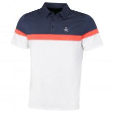 Original Penguin Mens 2021 Chest Pump Stretch 3 Button Golf Polo Shirt
