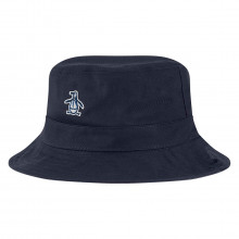 Original Penguin Mens 2021 Reversible Sloped Brim Foldable Golf Bucket Hat