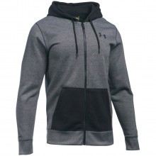 Under Armour Mens UA Storm Rival Fleece Patterned Zip Hoody