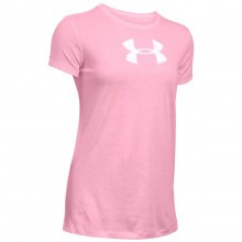 Under Armour Womens Favorite SS Branded Big Logo T Shirt