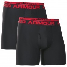 "Under Armour Mens O Series 6"" BoxerJock 2 Pack"