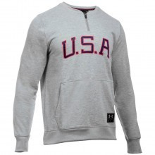 Under Armour 2016 Mens Cassius Clay 1/4 Zip Americana Pullover