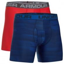 Under Armour Mens Original 6in 2 Pack Novelty Boxerjock
