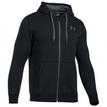 Under Armour 2018 Mens Rival Fitted Full Zip Hoodie