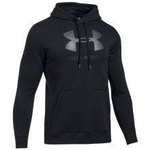 Under Armour 2017 Mens Rival Fitted Graphic Hoodie