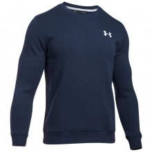 Under Armour Mens Rival Solid Fitted Crew Sweater