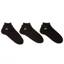Lacoste 2017 Mens RA1163 Plain Sport Socks - Pack of 3