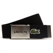 Lacoste 2017 Mens RC0012 40mm Gift Box Woven Adjustable Belt