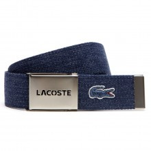 Lacoste 2017 Mens 40mm Gift Box Woven Adjustable Belt RC0015