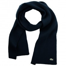 Lacoste Unisex RE4212 Plain Wool Scarf