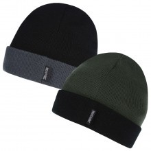 Regatta 2017 Mens Shakur Hat Fleece Beanie 2-Pack