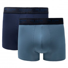 Ted Baker Mens 2-Pack Modal Lightweight Stretch Trunk Boxer Briefs