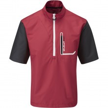 Stuburt Mens Cyclone Short Sleeve Water Repellent Golf Windshirt
