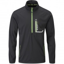 Stuburt Mens Cyclone Half Zip Soft Shell Golf Windshirt