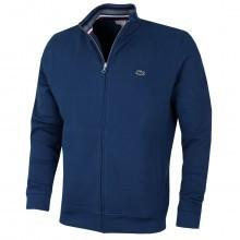 Lacoste Mens SH6948 Full Zip Fleece Sweatshirt