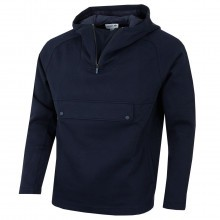 Lacoste Mens Hooded Zip Neck Wide Pockets Sweatshirt