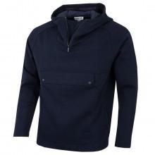 Lacoste Mens Hooded Zip Neck Wide Pockets Sweatshirt
