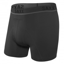 SAXX Mens Kinetic HD Wicking 4 Way Stretch Performance Boxer Briefs