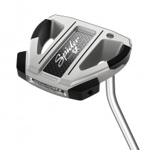 Taylormade Mens 2021 Spider EX Single Bend RH PureRoll Fluted Feel Putter