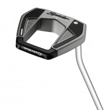 Taylormade Mens 2021 Spider S Single Bend RH PureRoll Fluted Feel Putter