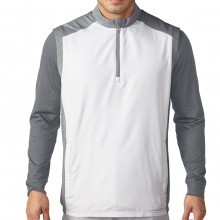 Adidas Golf Mens Club Half Zip Wind Vest