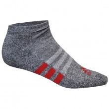 Adidas Golf 2017 Mens No Show - Basic Socks - 3 Pair Pack