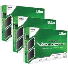 Wilson Staff Tour Velocity Feel Golf Balls Multi Buy 15 Pack