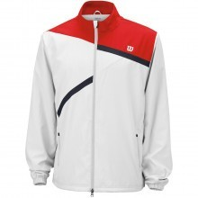 Wilson Mens Rush Woven Jacket Tennis Sports Training