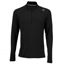 Wilson Sport 2017 Mens Nvision Zip Neck Long Sleeve Top Tennis Layer