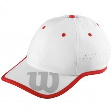 Wilson Sport Unisex Breathable Adjustable NanoUV +30 UPF Baseball Cap
