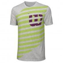 Wilson Sport 2017 Mens Lined W Tech T Shirt nanoWIK Tech Short Sleeve Tennis Tee